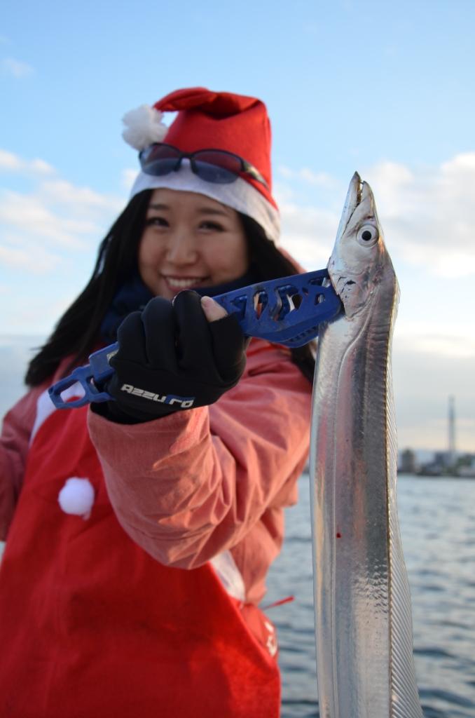 Santa De 太刀魚!